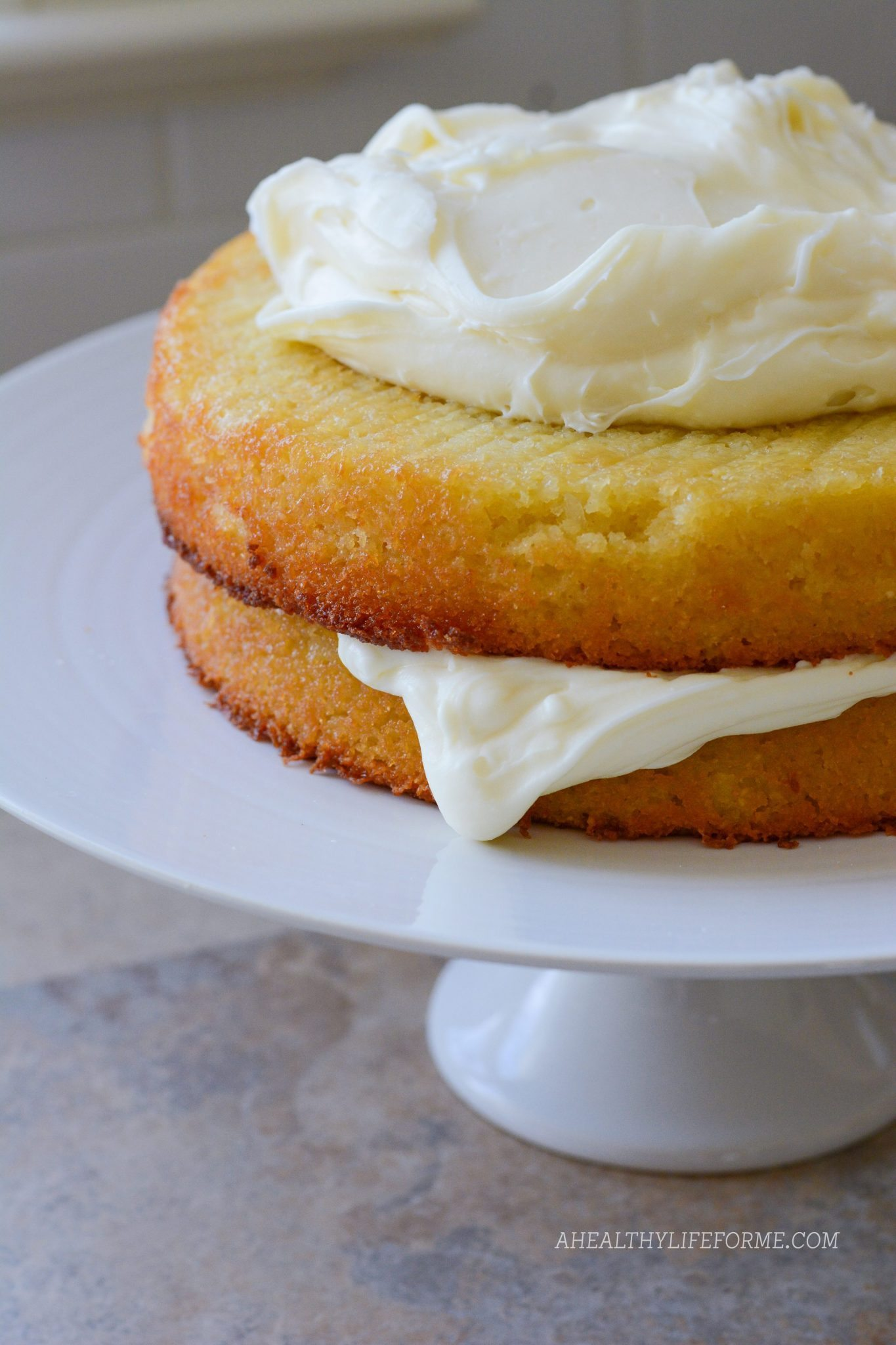 Gluten Free Almond Coconut Cake A Healthy Life For Me