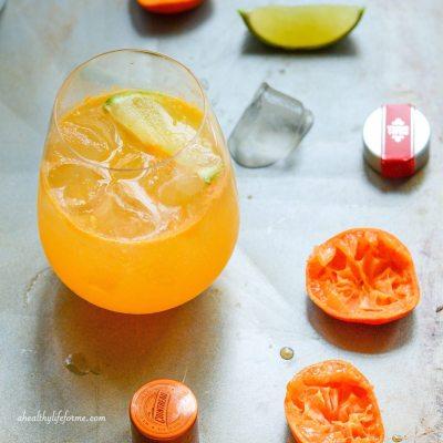 Mandarin Vodka Spritzer
