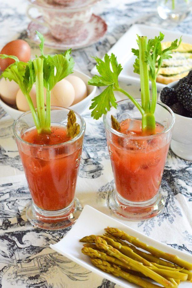 Bloody Mary Recipe for Mother's Day Recipe