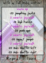 Spring into Fitness Full Body Workout
