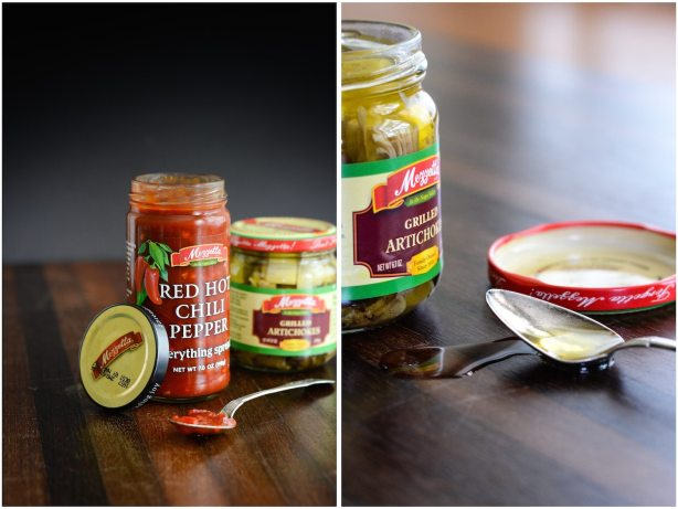Mezzetta Sandwich fixings | Italian Turkey Sandwich with Chive Parmesan Biscuits | ahealthylifeforme.com
