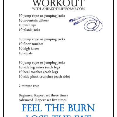 HIIT Workout Week 2