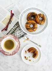 Paleo and Gluten Free Pumpkin Chocolate Donut Recipe | ahealthylifeforme.com