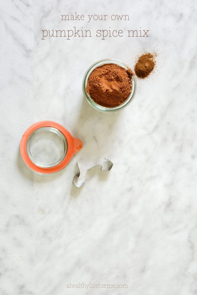 Make your own Pumpkin Spice Mix Recipe | ahealthylifeforme.com