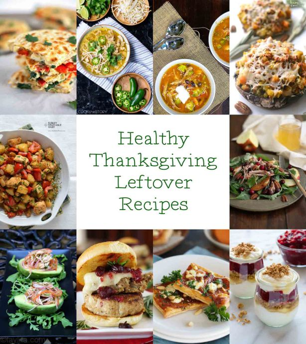 Using Thanksgiving Leftovers in new Healthy Recipes | ahealthylifeforme.com