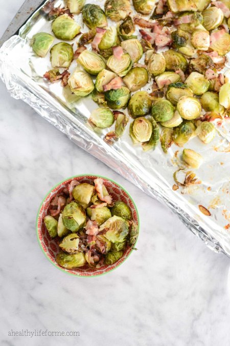 Roasted Brussels Sprouts and Bacon Recipe