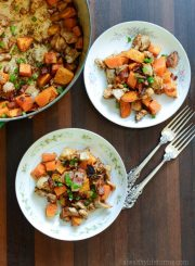 sweet potato spicy chicken recipe paleo gluten free grain free soy free