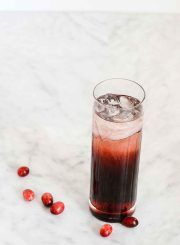 Mixed Red Cocktail Recipe | ahealthylifeforme.com