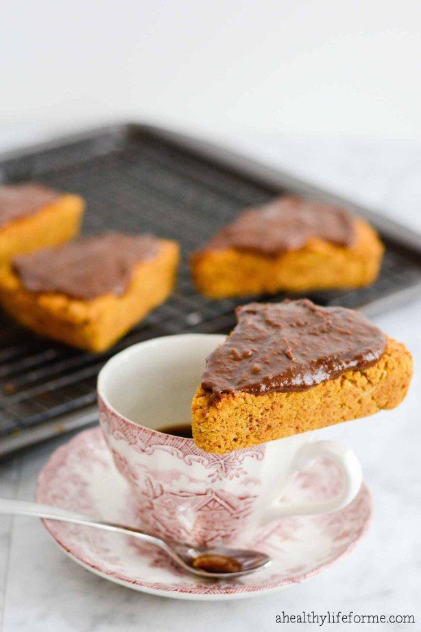 paleo pumpkin scones recipe gluten free grain free   ahealthylifeforme.com