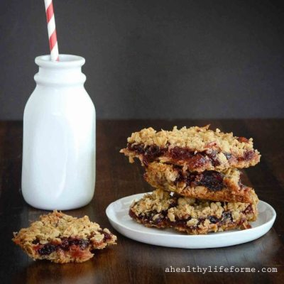 Cranberry Orange Holiday Bars
