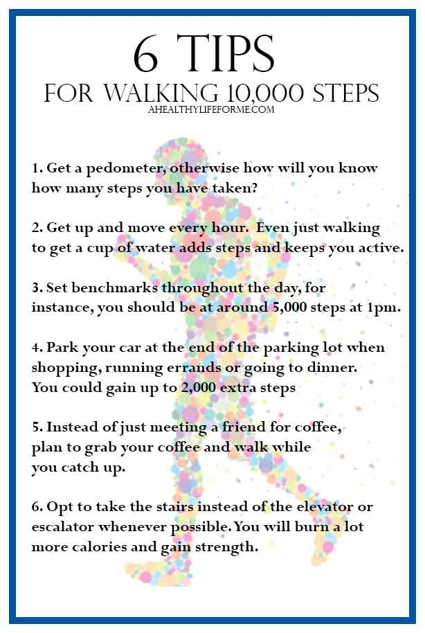 tips to walk 10 000 steps a healthy life for me