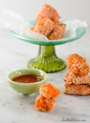 Gluten Free Sweet Potato Tater Tot Recipe | ahealthylieforme.com