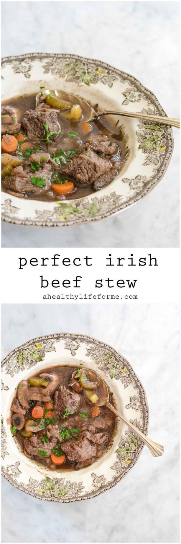 Irish Beef Stew Healthy and Clean Recipe | ahealthylifeforme.com