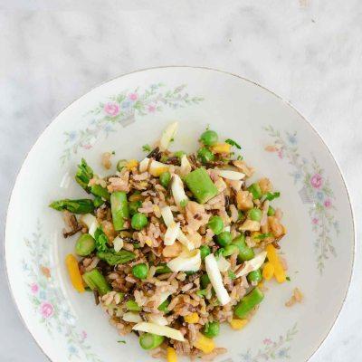 Spring Rice Salad