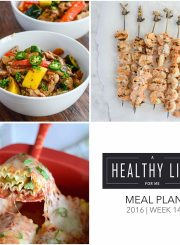 Meal Plan Week 14 | ahealthylifeforme.com