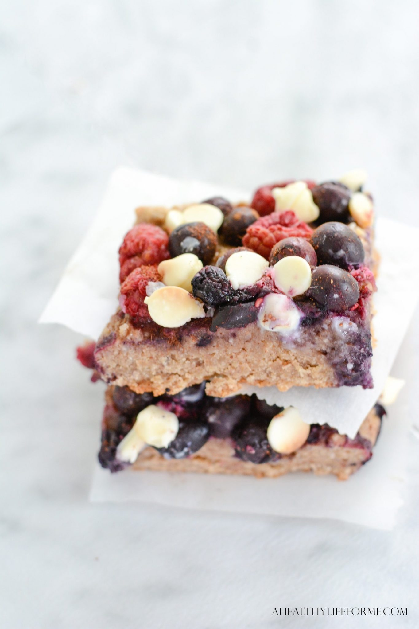 Berry Crumble Bars Gluten Free A Healthy Life For Me