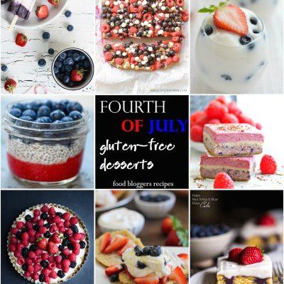 20 Gluten Free Fourth of July Desserts
