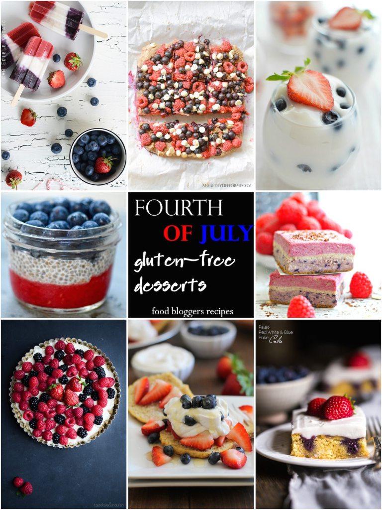 20 gluten free Fourth of July dessert recipes | ahealthylifeforme.com