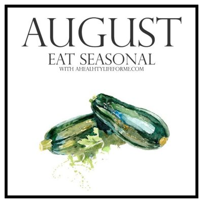 Seasonal Produce Guide for August