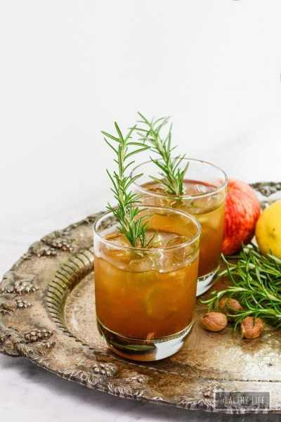 Bourbon Bomber Cocktail is the perfect toast to fall   ahealthylifeforme.com
