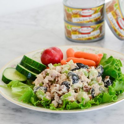 5 Minute Chicken Salad {gluten free}