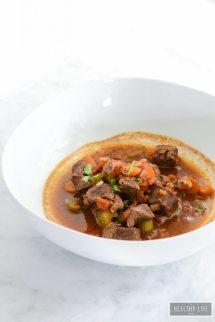 Paleo Lamb Stew - Healthy Life