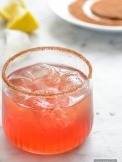 Amaretto Cranberry Spice Cocktail