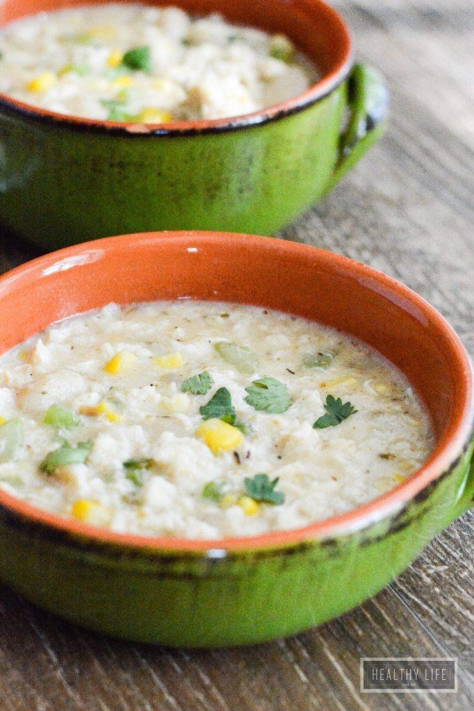 Crab Chowder gluten free recipe   ahealthylifeforme.com