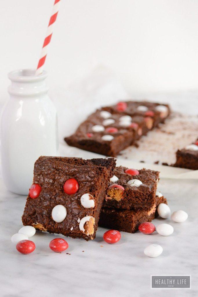 Chocolate Peppermint Brownie Recipe | ahealthylifeforme.com