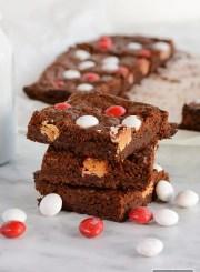 Chocolate Peppermint Brownie Recipe   ahealthylifeforme.com