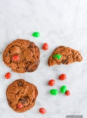 Double Almond Chocolate Chip Cookies are crisp and crunchy with almond and choclate combination gluten free | ahealthylifeforme.com