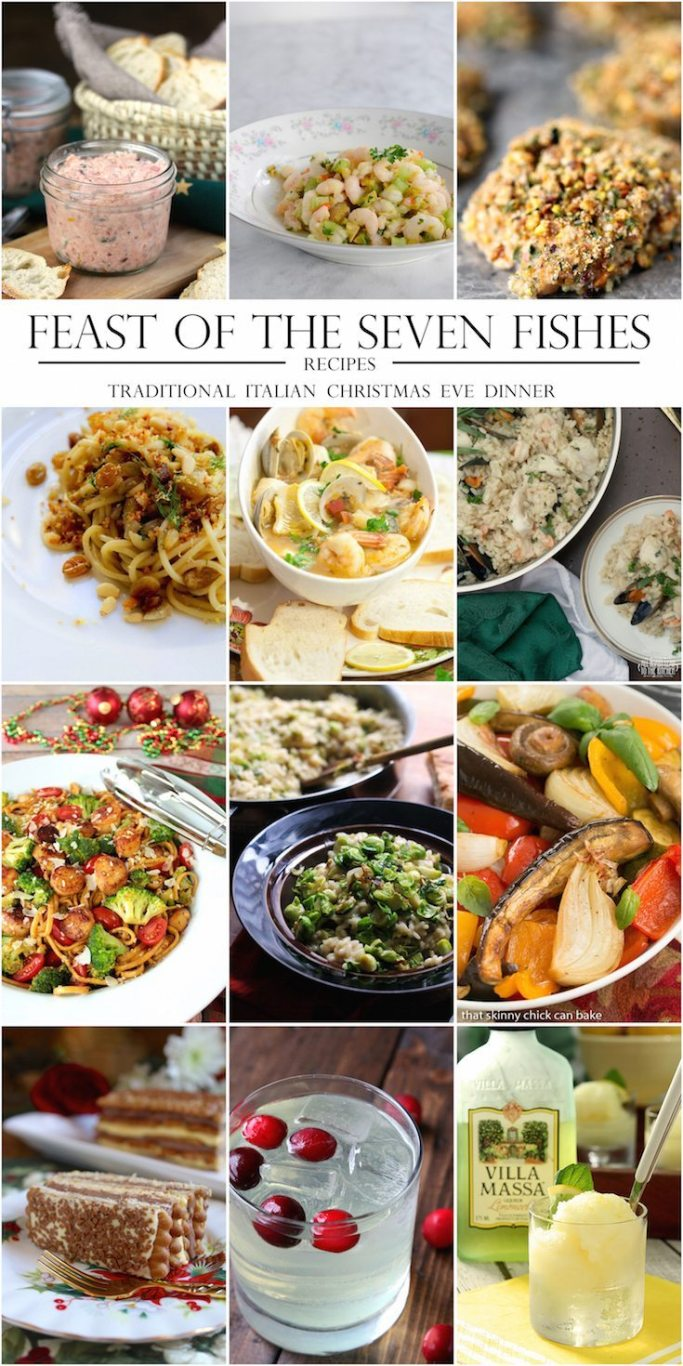 Feast of the seven fishes recipe ideas   ahealthylifeforme.com