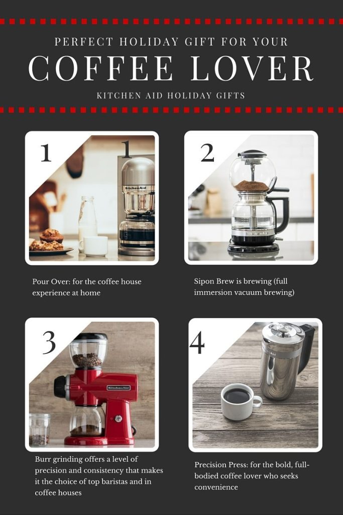 Perfect Holiday Gift for your Coffee Lover Kitchen Aid   ahealthylifeforme.com
