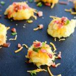 Loaded Mashed Potato Bites Recipe | ahealthylifeforme.com