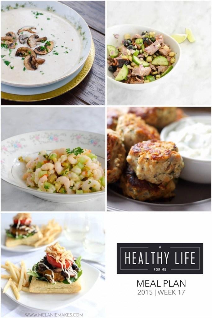 Meal Plan Week 17 | ahealthylifeforme.com