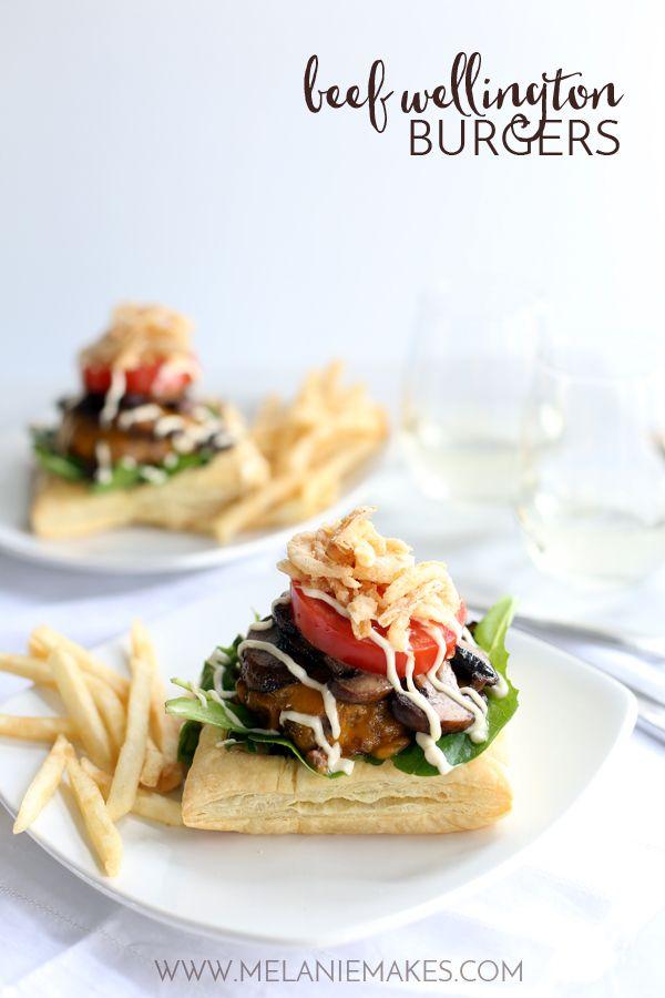 Beef Wellington Burger Recipe   melaniemakes.com