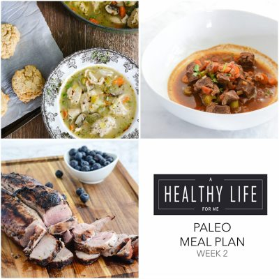 Meal Plan Week 2 {paleo}