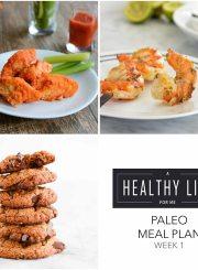 Paleo Meal Plan Week 4 | ahealthylifeforme.com