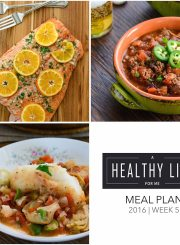 Meal Plan Week 5 | ahealthylilfeforme.com