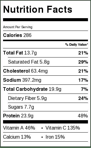 Chicken Pie with Cauliflower Crust Recipe Gluten Free Low Calorie HIgh Protein | ahealthylifeforme.com