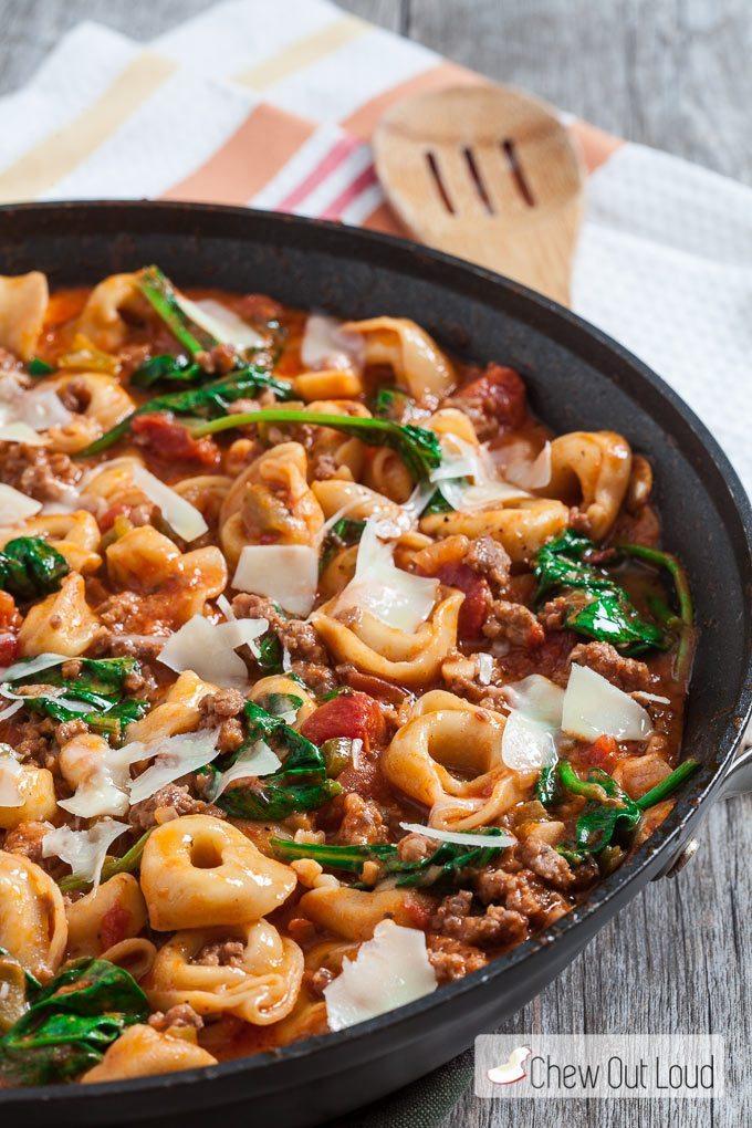 Tuscan Tortellini | chewoutloud.com