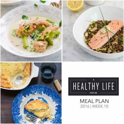 Weekly Meal Plan Week 10