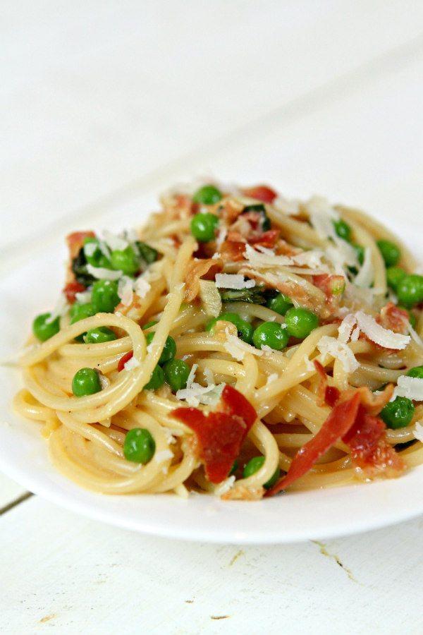 Spaghetti Carbonara   recipegirl.com