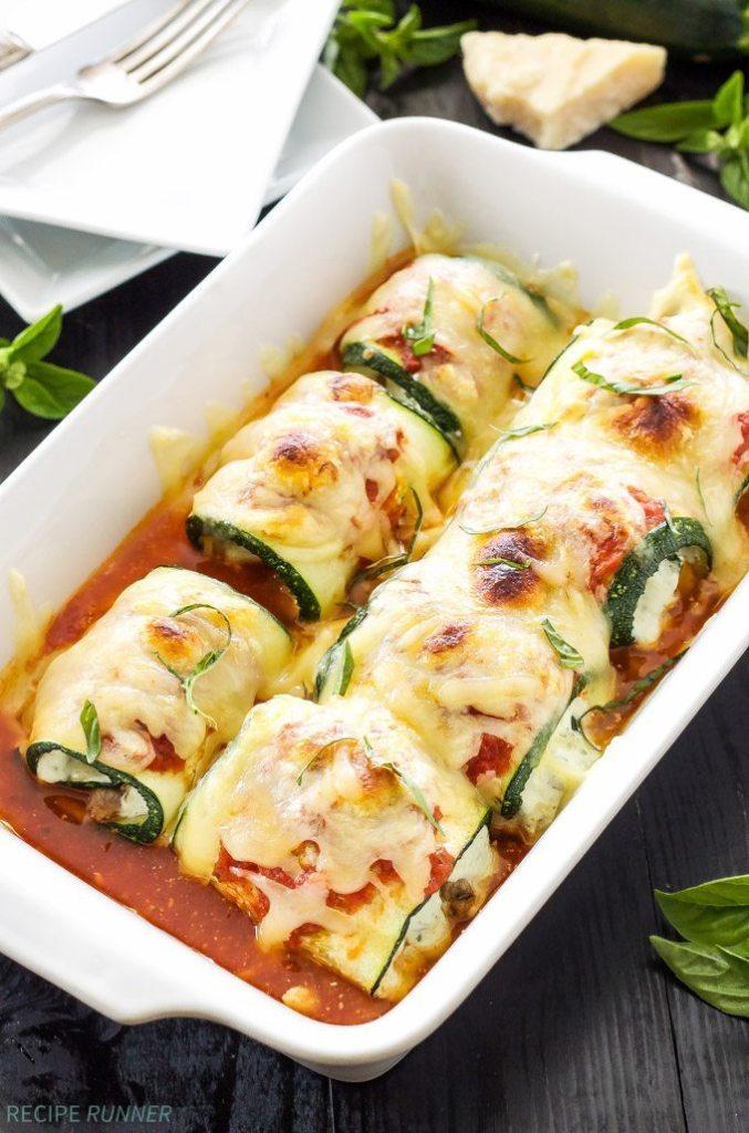 Zucchini Lasagna   Reciperunnercom
