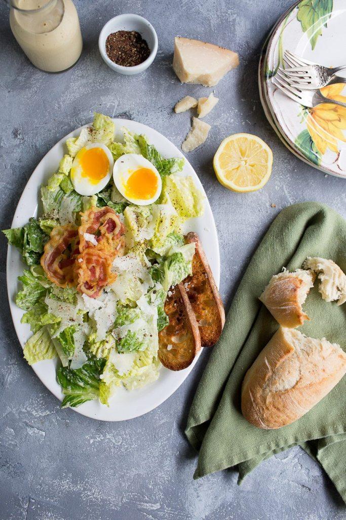 Caesar Salad via Chez Us