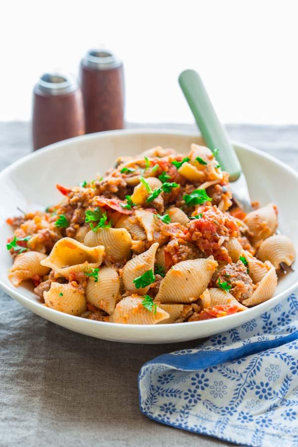 Healthy American Chop Suey   healthyseasonalrecipes.com