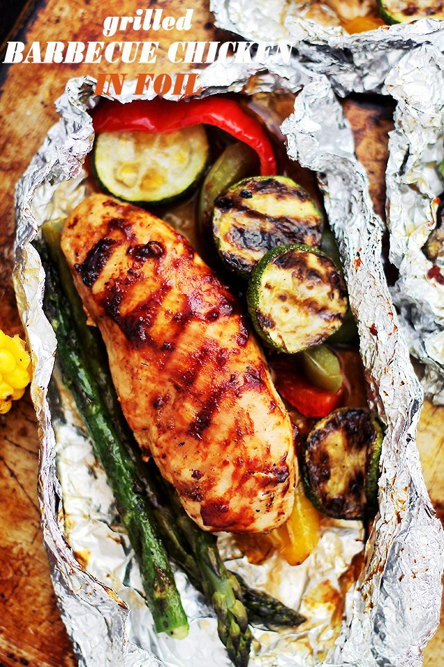 BBQ-Chicken-in-Foil