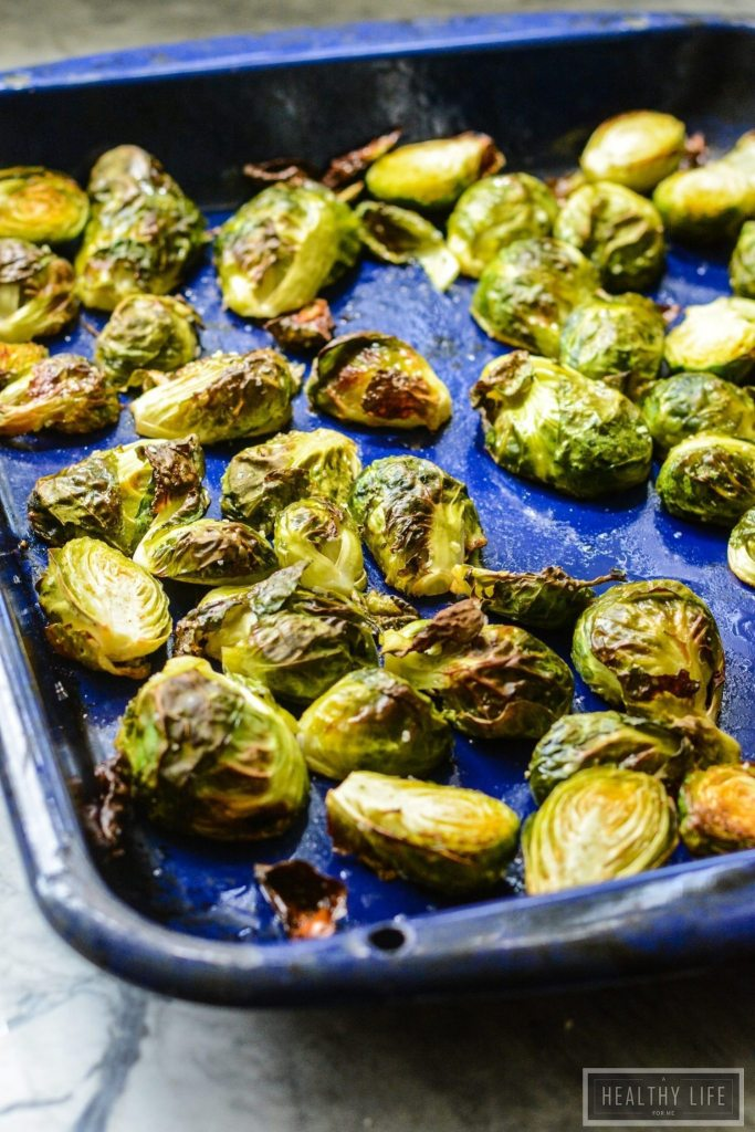 Roasted Brussels Sprouts Slaw   ahealthylifeforme.com