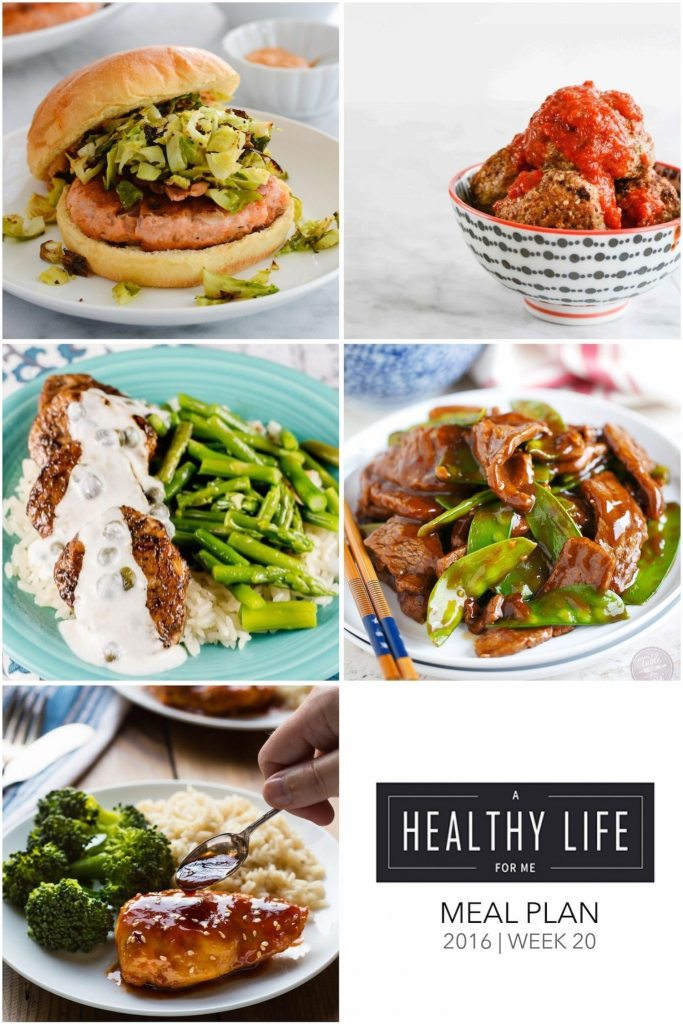 Healthy Weekly Meal Plan | ahealhtylifeforme.com
