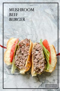 These Mushroom Beef Burgers are moist and flavorful cooked up on the grill and ready in under 30 minutes   ahealthylifeforme.com